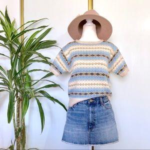 Vintage Ralph Lauren Short Sleeve Sweater